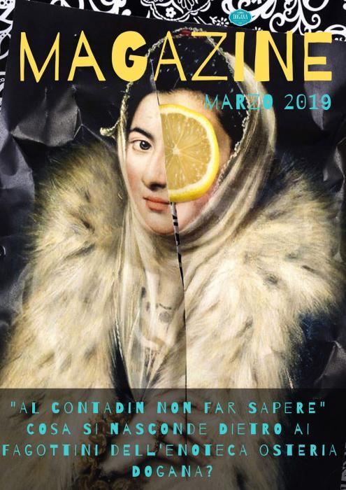 Copertina Magazine Marzo